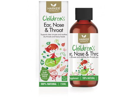 Harker Herbals Children's Ear, Nose & Throat 150ml