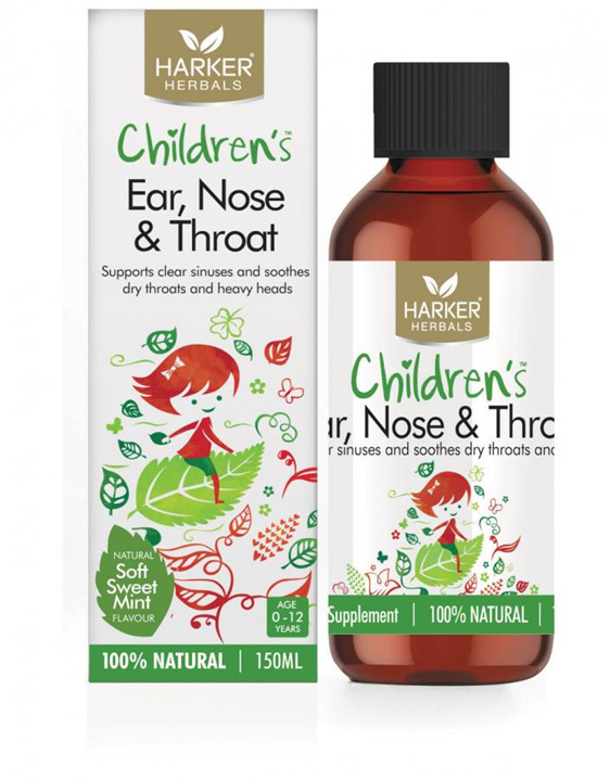 Harker Herbals Childrens Ear Nose  Throat 150ml