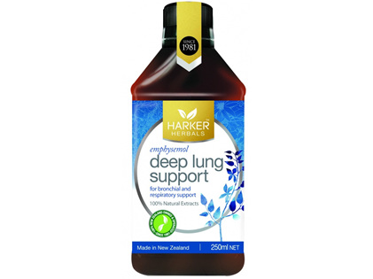 Harker Herbals Deep Lung Support 250ml