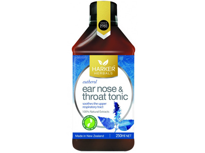 Harker Herbals Ear Nose and Throat Tonic 250ml