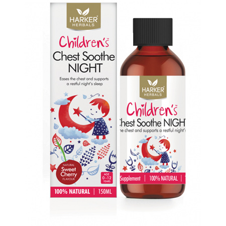 HARKERS Childrens Chest Soothe Night 150ml