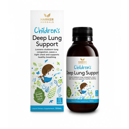 HARKERS Children's Deep Lung Support 150ml