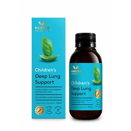 HARKERS Children's Deep Lung Support 150ml