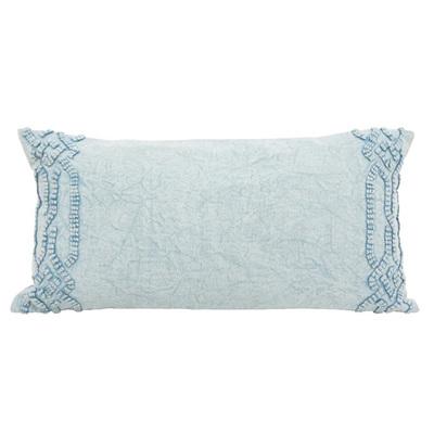 Harum Cushion W Stonewash & Dori Work 30x60cm