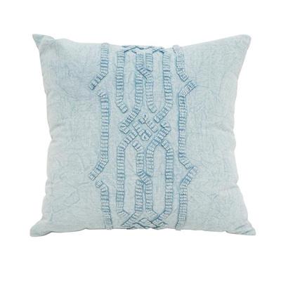 Harum Cushion W Stonewash & Dori Work 50x50cm