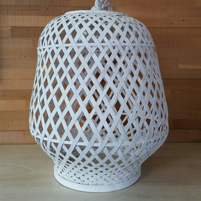 Hatta Pendant - White - 44x40cmh