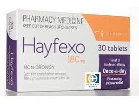 HAYFEXO TABS 180MG 30