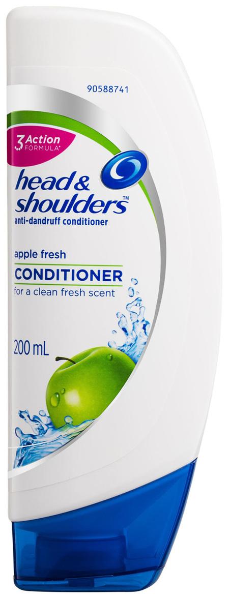Head & Shoulders Apple Fresh Hair and Scalp Care Anti-Dandruff Conditioner 200mL