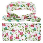 Headband & Wrap Set - Pink Petal