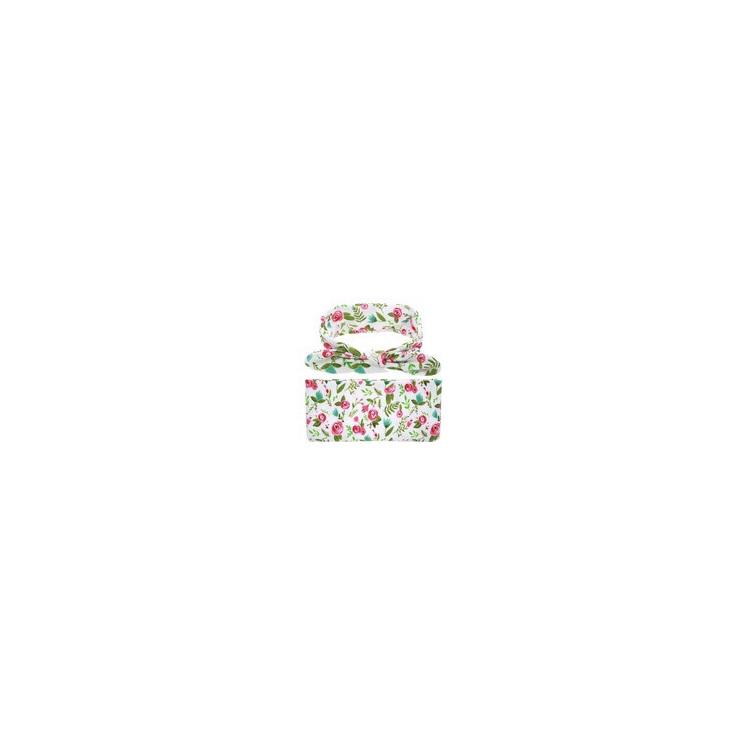 Headband & Wrap Set - Pink Petal