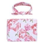 Headband & Wrap Set - Pretty Pink