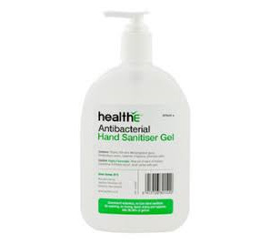 HEALTHE Antibact Hand Sanit Gel 375Ml