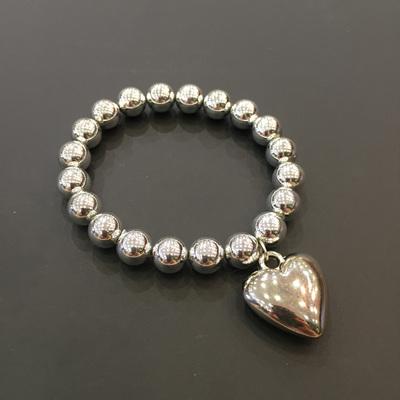 Heart Charmer Bracelet - Silver