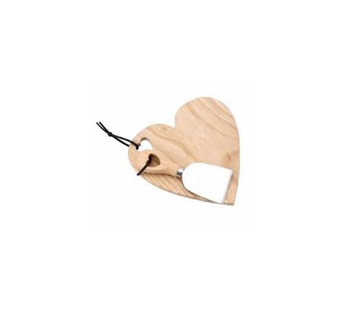 Heart Cheeseboard & Knife