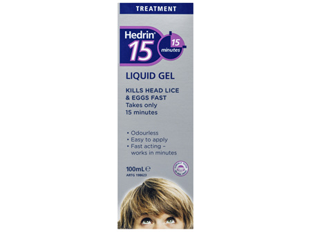 Hedrin 15 Liquid Gel 100mL