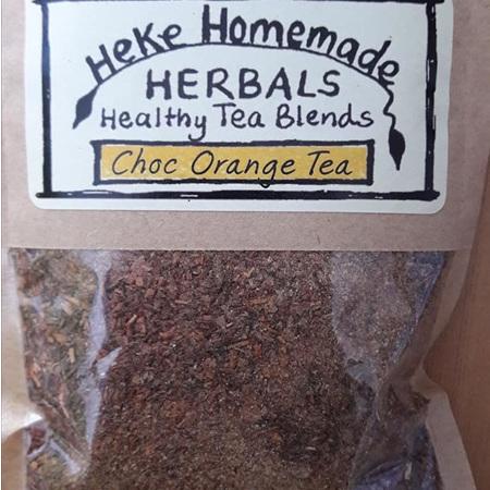 Heke Tea Choc Orange 30g