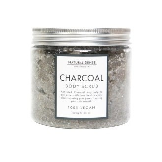 Herbal Remedies Body Scrub - Charcoal 500gm