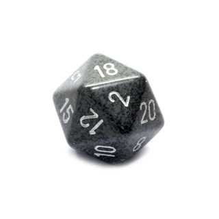 Hi-Tech' Large Twenty Sided Dice