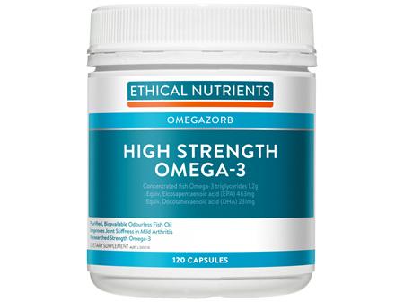 High Strength Omega-3 120 Capsules