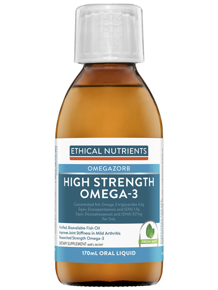 High Strength Omega-3 Fresh Mint 170mL