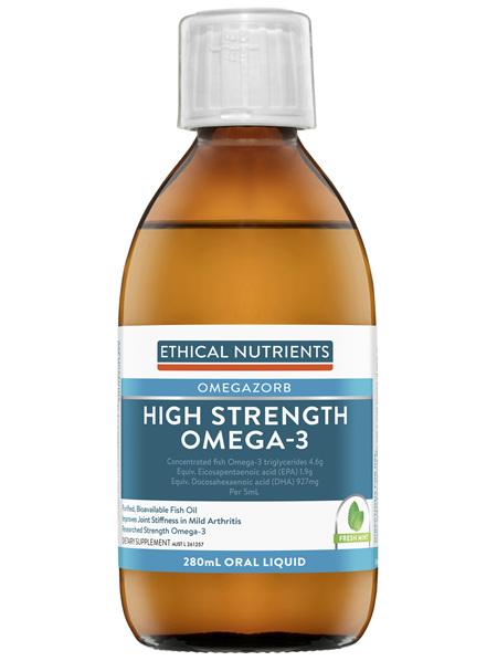 High Strength Omega-3 Fresh Mint 280mL