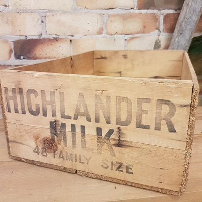 Highlander Milk Crate