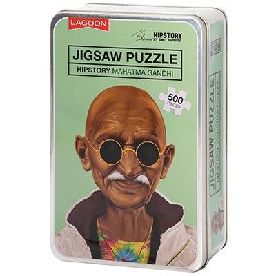 Hipstory Jigsaw - Ghandi