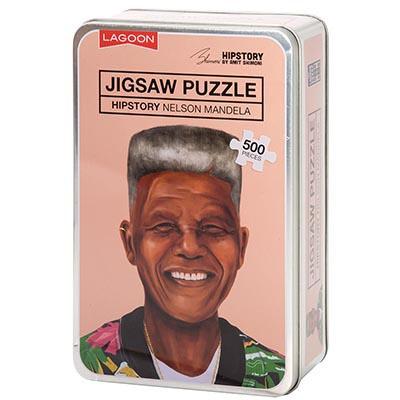 Hipstory Jigsaw - Nelson Mandela