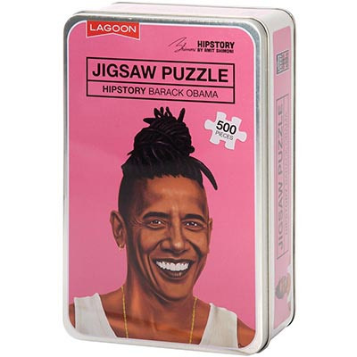 Hipstory Jigsaw - Obama