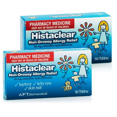 Histaclear 10mg 30s