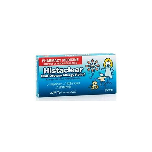 Histaclear 10mg Tablets 30