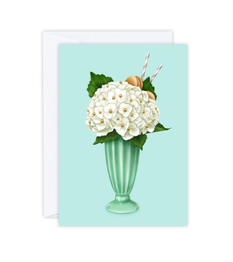 Hokey Pokey Hydrangea Card
