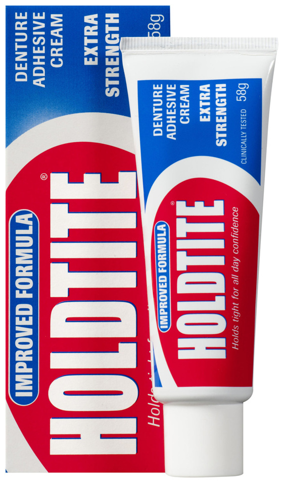 Holdtite Denture Cream 58g