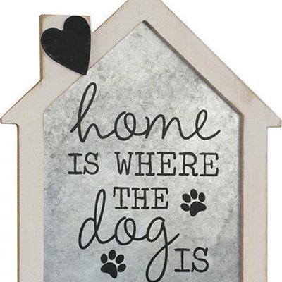 Home Dog Sign