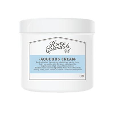 Home Essentials Moist Aqueous Cream 500g