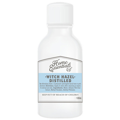 Home Essentials Witch Hazel Distilled 100ml