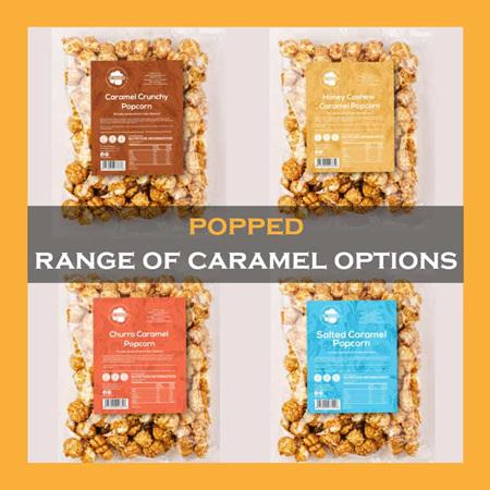 Honey Cashew Caramel Popcorn