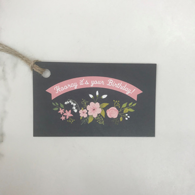 Hooray Its Your Birthday - Gift Tag