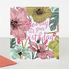 Hooray Its Your Birthday Tropical a534b7a87ec0f