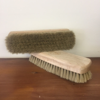 Cleaning Brush - Horse Hair & Beech