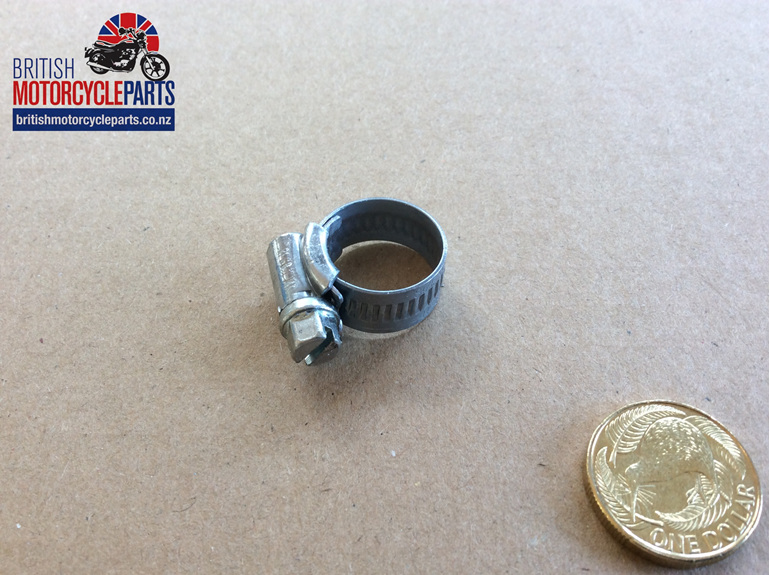 Hose Clips - 11-16mm - British Motorcycle Parts - Auckland NZ