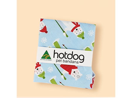 Hot Dog Pet bandanna