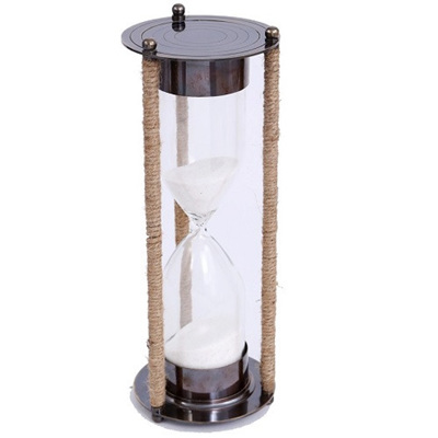 Hourglass with Twine - Large