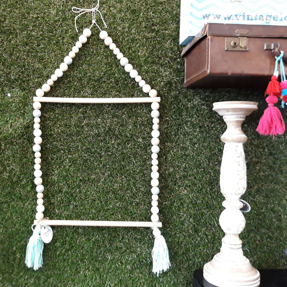 House Bead Shelf - Mint