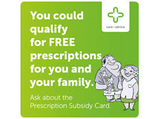 How do I get free prescriptions?