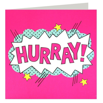HURRAY! Greeting Card