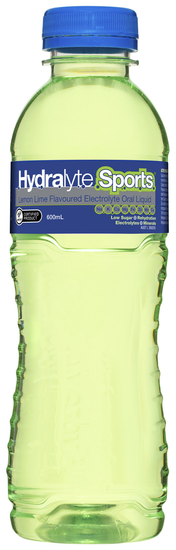 Hydralyte Sports Electrolyte Oral Liquid Lemon Lime 600mL