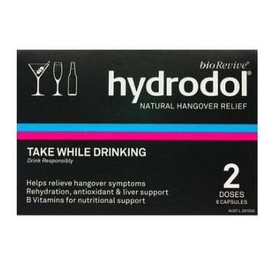 HYDRODOL Hangover Relief 8Caps