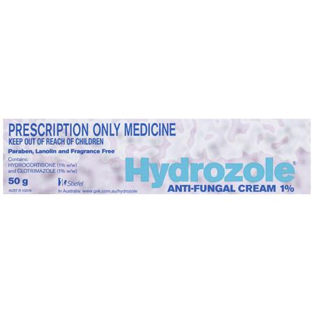 Hydrozole Anti-Fungal Cream 1% 50g Prescription Only Medicine