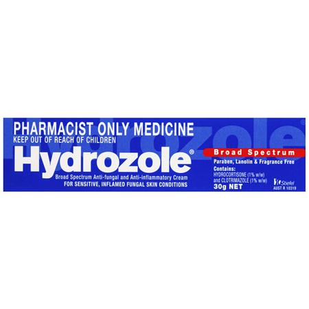 Hydrozole Broad Spectrum Anti-fungal and Anti-inflammatory Cream 30g